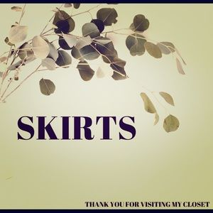 Check out these designer skirts
